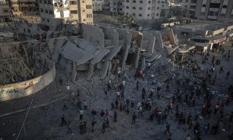 Ceasefire appears to take hold in Gaza, ending deadly weekend of hostilities